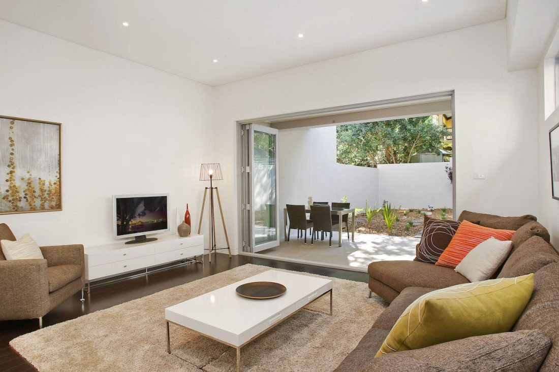 Figtree Ave, Randwick Living Room | Corrion Prestige Developments